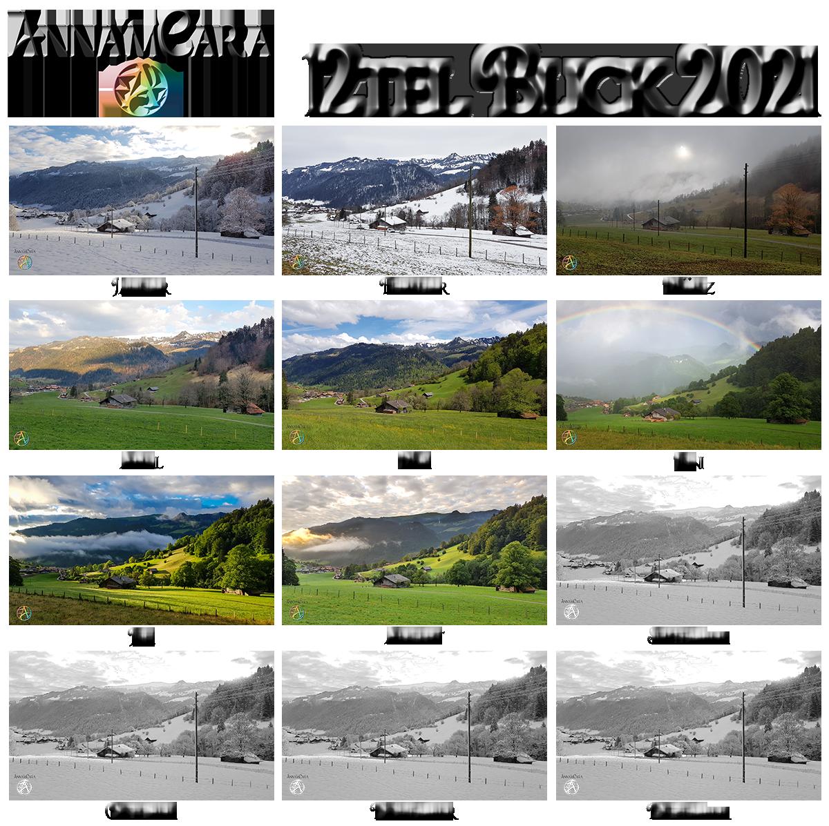 Anna'mCara-Blog - 12tel-Blick - Jahresblick - August