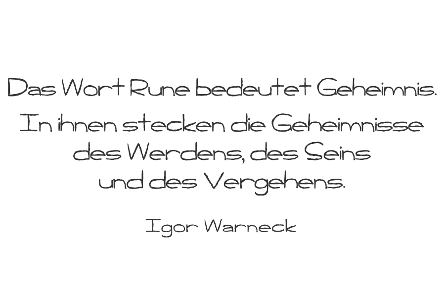Weisheit - Seminare - Runenkurs - Anna'm'Cara