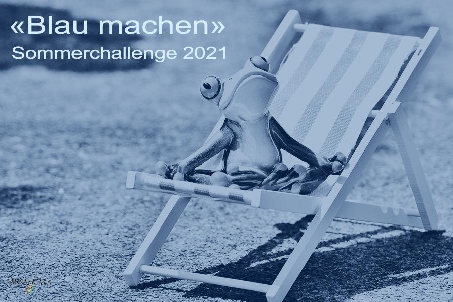 Anna'mCara - Blau machen 2021 - Titelbild